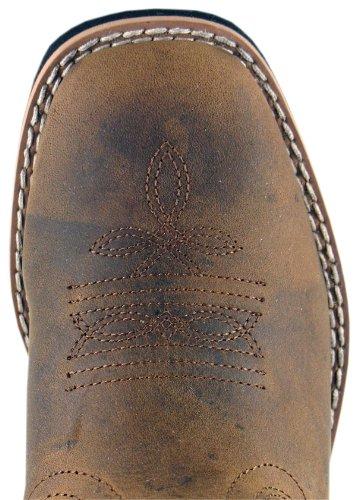 Kids Pueblo Leather 11M,Dark Crazy Horse by Smoky Mountain Boots