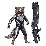 Endgame Titan Hero Series Rocket Raccoon 12-Inch-Scale Super Hero Action Figure with Titan Hero Power FX Port