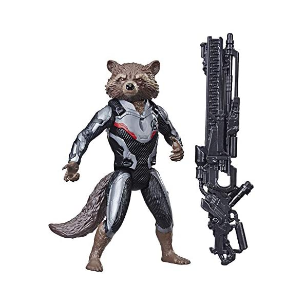Avengers Endgame Titan Hero Series Rocket Raccoon 12-Inch-Scale Super Hero Action Figure with Titan Hero Power Fx Port
