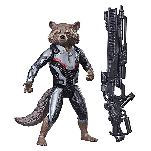Endgame Titan Hero Series Rocket Raccoon 12-Inch-Scale Super Hero Action Figure with Titan Hero Power FX Port (Rocket Raccoon Figure)