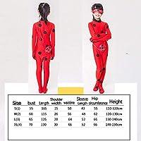 AuLinx Disfraz de Mariquita Milagrosa Ladybug para Carnaval (S ...