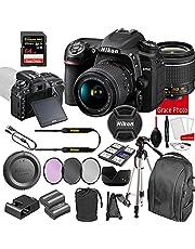 $1179 » Nikon D7500 DSLR Camera Kit with 18-55mm VR Lens | Built-in Wi-Fi | 20.9 MP CMOS Sensor | SnapBridge Bluetooth Connectivity | Extreme Speed 64GB Mempry Card (27pc Bundle)