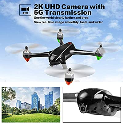 Contixo F18 GPS Drone with 2K FHD Camera for Adults, Live Video 5G WiFi RC Brushless Motors Quadcopter, Advanced Selfie, Follow Me, Orbit Mode, RTH,1 Key take Off Best Gift