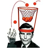 ShopSquare64 Head Basketball Hoop Game Circle Shot Plastic Basket Parent - Child Interactive Toys Hat
