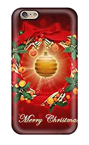 High-quality Durable Protection Case For Iphone 6(merry Bright Christmas)