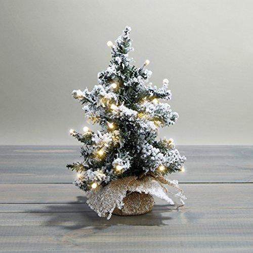 Flocked Pine Tree - 4