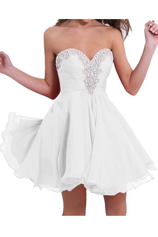 Victory Bridal Modisch Damenmode Abendkleider mit Sternen Kurz ...