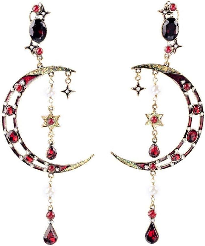 Pendientes Aretes aretes clips de orejas estrellas