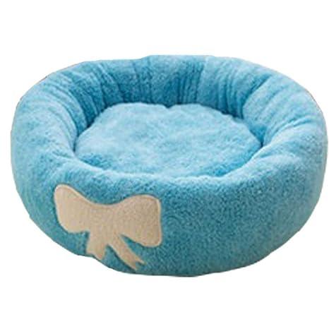 Wuwenw Cama para Mascotas Saco De Dormir De Dibujos Animados para Mascotas Casa De Perro Colchón