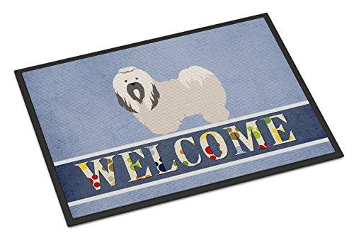Lhasa Apso Frame (Caroline's Treasures Lhasa Apso Welcome Doormat, 18