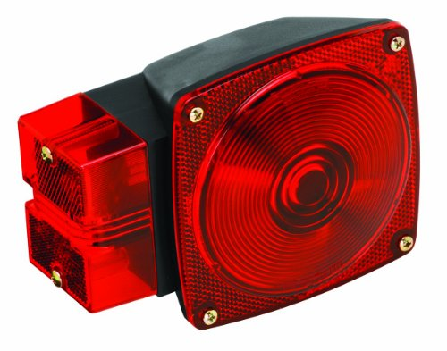 Wesbar Left Hand Submersible Combination Tail Light, Over 80-Inch - 2523024 ()