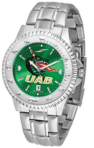 UAB Blazers Competitor Steel AnoChrome Men's Watch