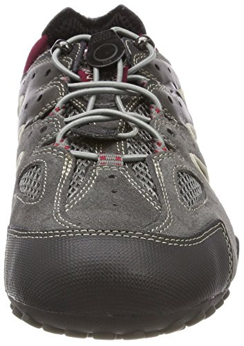 Uomo Grey Gris 45 Snake Homme Ruby EU J Basses Geox Sneakers DK gYnd8qxgCw