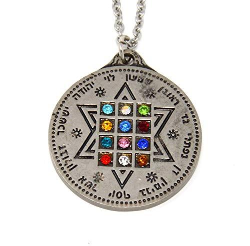 Holy Land Mall High Priest Chestplate Ornament Hanging Pendant 12 Tribes of Israel The Ephod Choshen Hoshen The Judaic Traveler