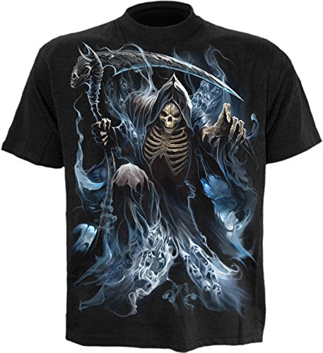 Spiral - Mens - Ghost Reaper - T-Shirt Black - ()