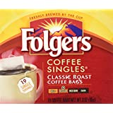 Folgers Coffee Singles Classic Roast-19 Coffee Bags