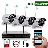 OOSSXX 8-Channel HD 1080P Wireless Network/IP Security Camera - Best Reviews Guide
