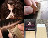 10 Pcs X 18″ inches Remy Seamless Tape In Skin weft Human Hair Extensions Color #11 Lightest Blonde