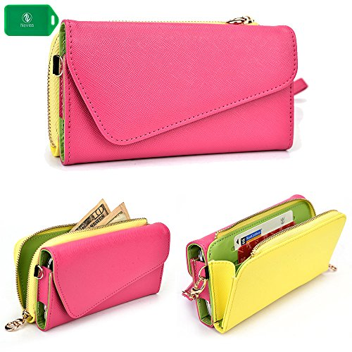 cellphone-wallet-clutch-includes-crossbody-chain-passion-pink-yellow-universal-design-fits-the-follo