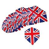 Homyl Standard Dart Flights Professional Darts Accessories national flag design