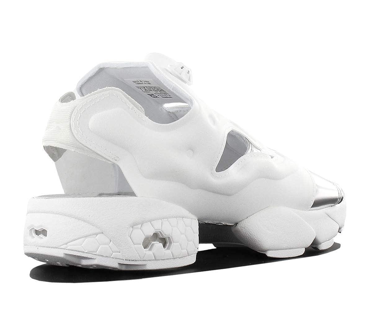 Reebok Reebok Reebok Classic Instapump Fury Sandal Mag Schuhe Damen Sandale Outdoor-Sandale Weiß mit Fersenriemen 3bba5a