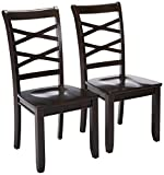 247SHOPATHOME IDF-3528EX-SC Dining-Chairs, Espresso