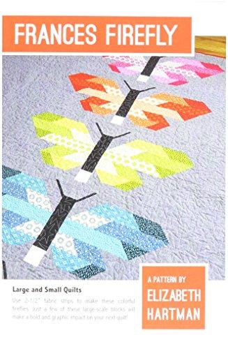 Elizabeth Hartman EHP026 Frances Firefly Quilt Pattern