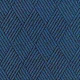 Andersen 216 Waterhog Classic Tile Polypropylene Fiber Entrance Indoor/Outdoor Floor Tile, Diamond Pattern, SBR Rubber Backing, 18'' Length x 18'' Width, 1/4'' Thick, Medium Brown (Case of 12)