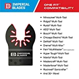 Imperial Blades IBOA800-1 One Fit 4-IN-1 Features