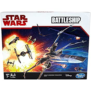 Hasbro Gaming Star Wars GM Battleship Game Board