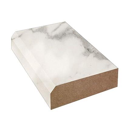 Bevel Edge Laminate Countertop Trim Calacatta Marble Laminate