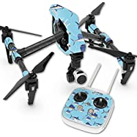 Skin For DJI Inspire 1 Quadcopter Drone – Billfish Stripes | MightySkins Protective, Durable, and Unique Vinyl Decal wrap cover | Easy To Apply, Remove, and Change Styles | Made in the USA