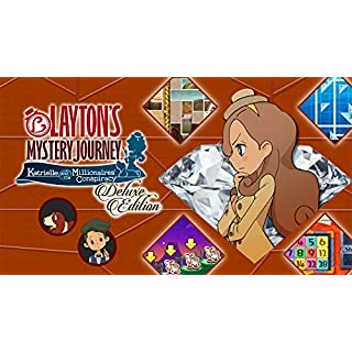 LAYTON'S MYSTERY JOURNEY: Katrielle and the Millionaires' Conspiracy - Deluxe Edition - Switch [Digital Code]
