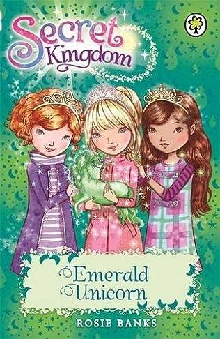 book cover of Emerald Unicorn