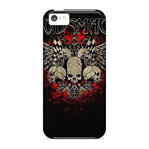 Shock Absorption Hard Cell-phone Case For Iphone 5c With Support Your Personal Customized Realistic Godsmack Skin ChristopherWalsh