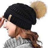 FURTALK-Womens-Winter-Knit-Beanie-Hat-Skull-Cap-Slouchy-Beanie-Pom-Pom-Hats-for-Women