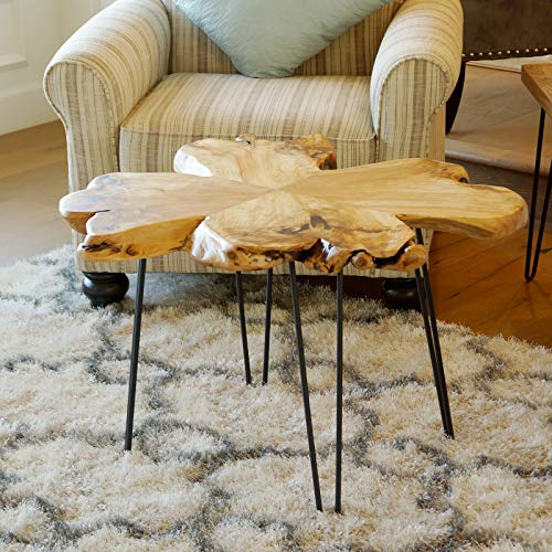 Set of 4 19'' Furniture Hairpin Metal Legs (19-inch) Heavy Duty Use for Wood Tabletop by WELLAND (Image #7)