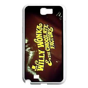 [bestdisigncase] For Samsung Galaxy Note 2 -Wonka Chocolate Pattern PHONE CASE 9