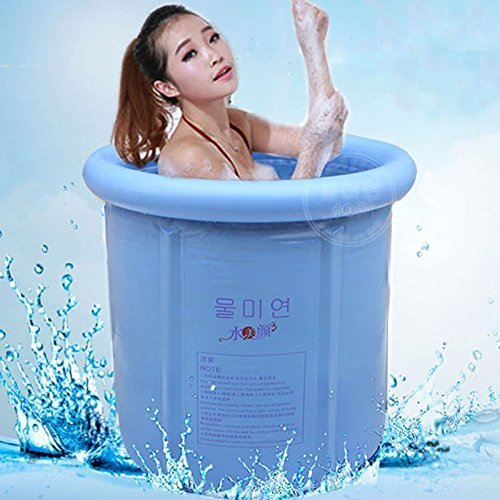 GCCI Bathtub Folding Bathtub, Portable Bathtub, Plastic Bathtub,Spa Bathtub, Massage Bathtub
