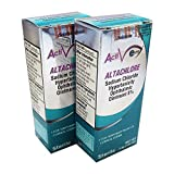 Altachlore 5% Sodium Chloride 3.5 g Ophthalmic Ointment, Compare to Muro 128, pack of 2