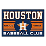 FANMATS 18469 Houston Astros Baseball Club Starter Rug