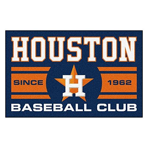Rug Baseball Mat Astros Houston (Fanmats 18469 Houston Astros Baseball Club Starter Rug)