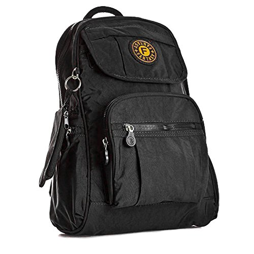 ydezire® Unisex Mini mochila mochila infantil/adolescente mochila escolar colegio bolsa de hombro para mujer Black/013k