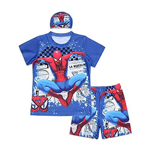Watersport Jongen Spiderman Zwempak Kid Cosplay Zwemkostuum Korte Mouwen Mouwen Onderwater Duiken Strandkleding Surfsuit…