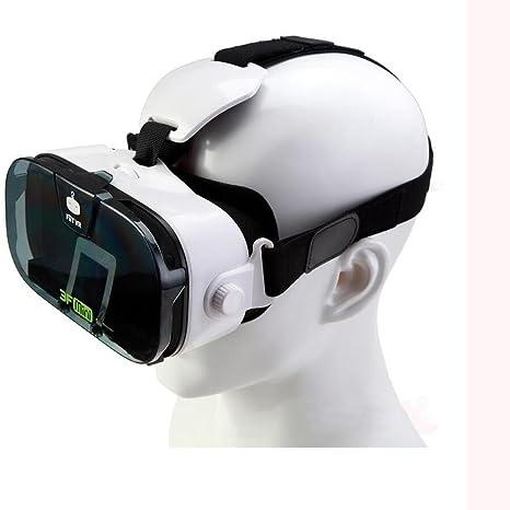 WLEHOLD 3D VR - Auriculares de Realidad Virtual para iPhone 5 y 7 ...