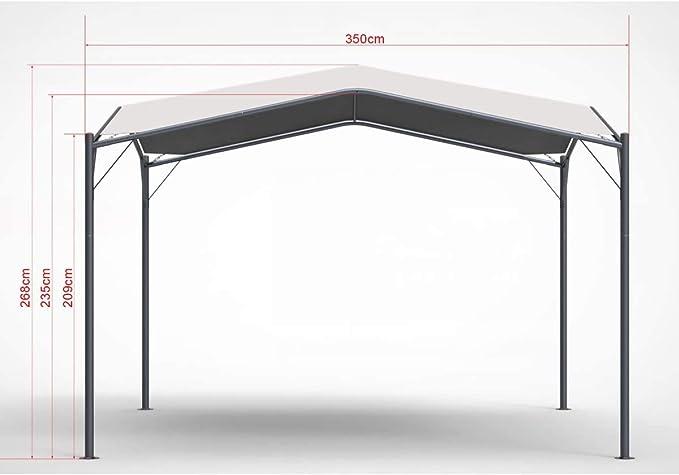 MEFO – Cenador de jardín al aire libre toldo Patio Swan: Amazon.es: Jardín