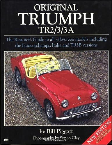original triumph tr2 3 3a vol 1