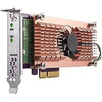 Qnap Dual M.2 22110/2280 SATA SSD expansion card (PCIe Gen2 x 4) (QM2-2S)