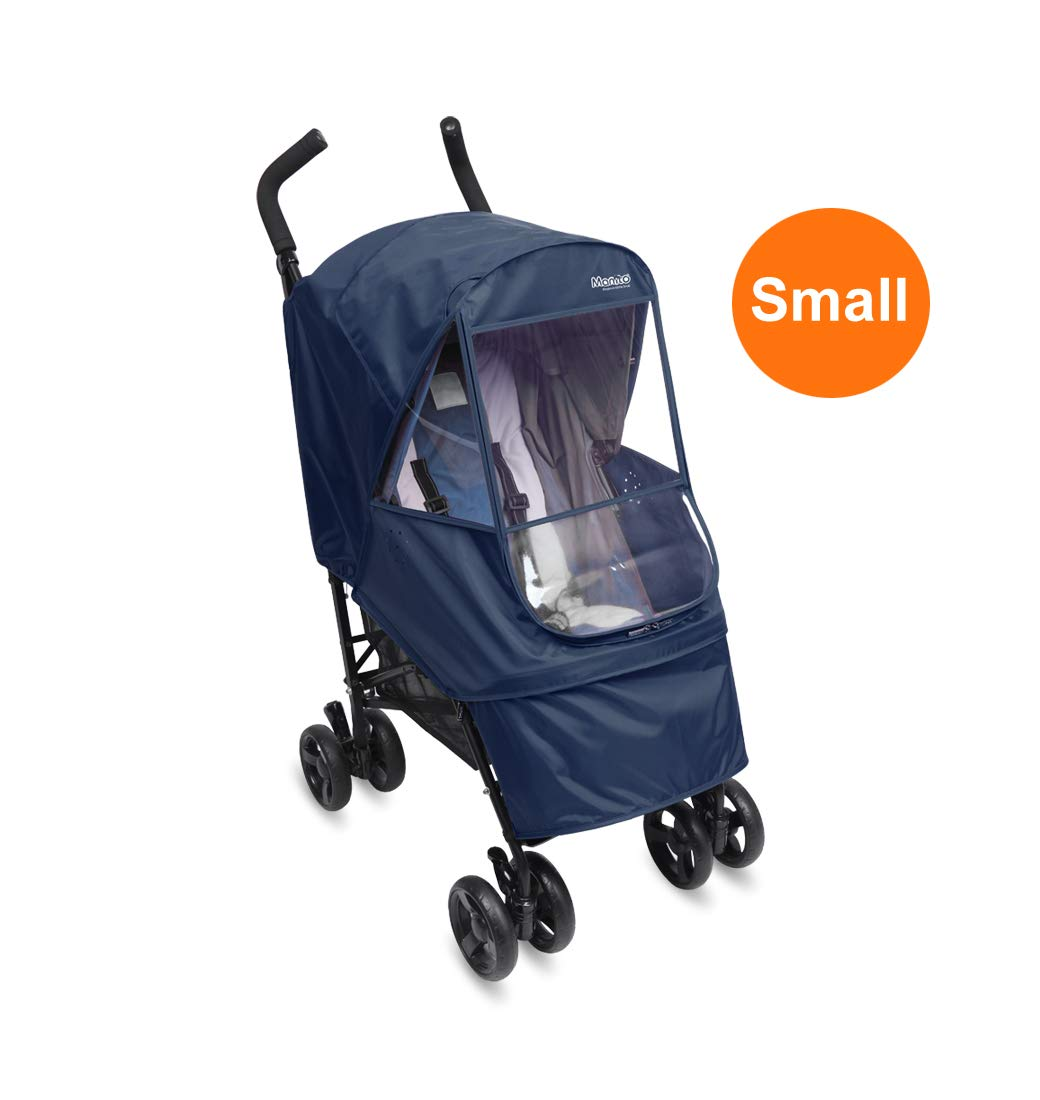Red Manito Elegance Alpha Stroller Weather Shield//Rain Cover