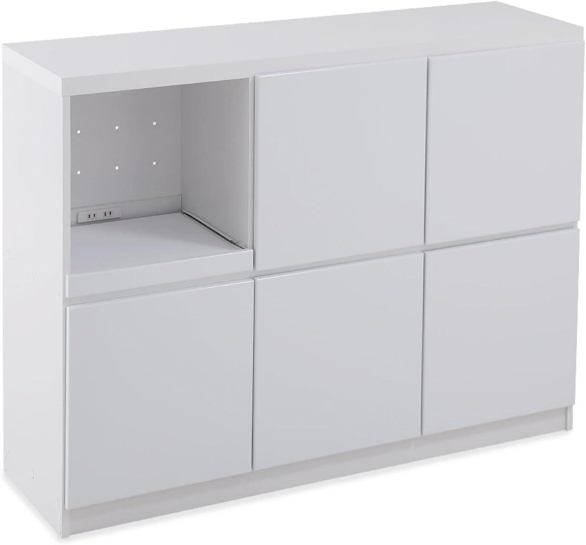 LOWYA(ロウヤ) プッシュオープン食器棚